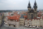 Prague Main Square with Gothic Church