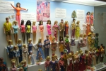 Barbie exhibition in toy museum at Prague Castle